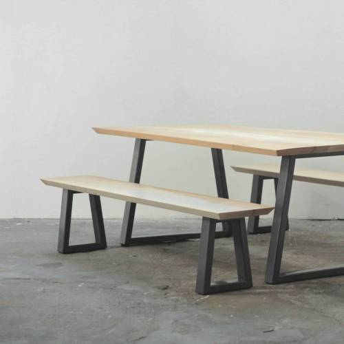 Medium Of Bench Dining Table
