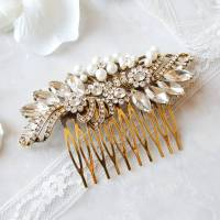 vintage style wedding hair comb by highland angel ...