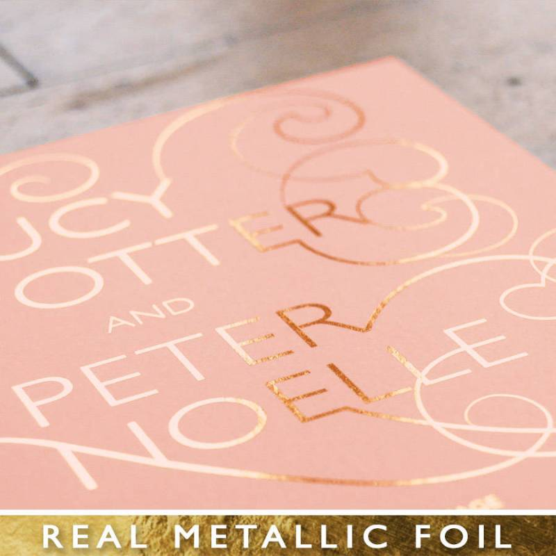 Large Of Rose Gold Foil