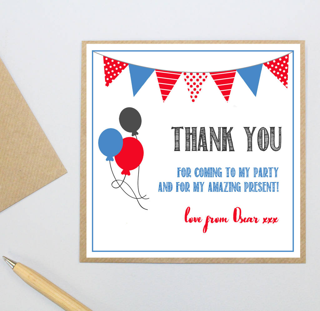 Absorbing Personalised Party Postcards Personalised Party Postcards By Little Plum Thank You Postcards Business Thank You Postcards cards Thank You Postcards