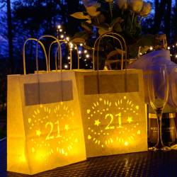 Fanciful Birthday Paper Lantern Bag Party Decoration Birthday Paper Lantern Bag Party Decoration By Baloolah Bunting 21st Birthday Decorations Boy 21st Birthday Decorations Near Me