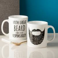 great beard' man mug by oakdene designs ...