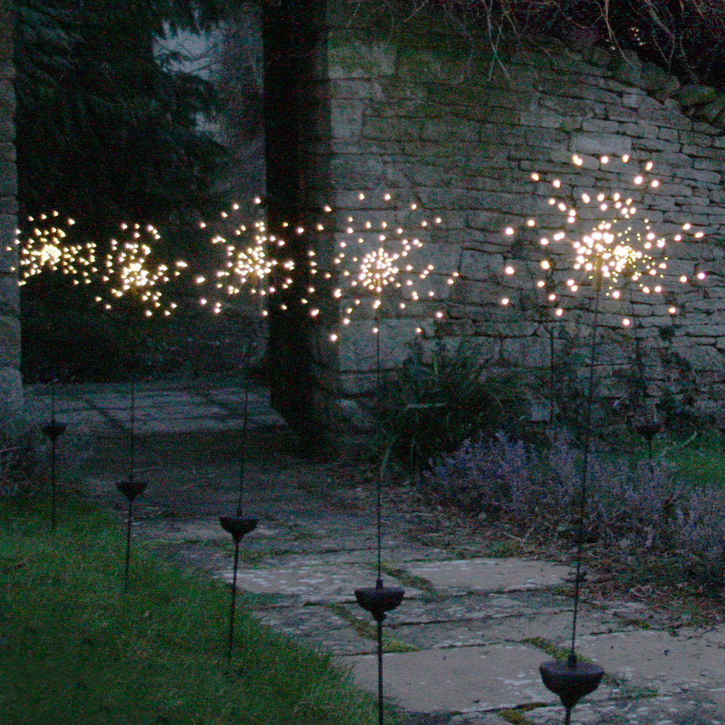 Outdoor Solar Garden Lights Solar Powered Outdoor Stake Light By All Things Brighton