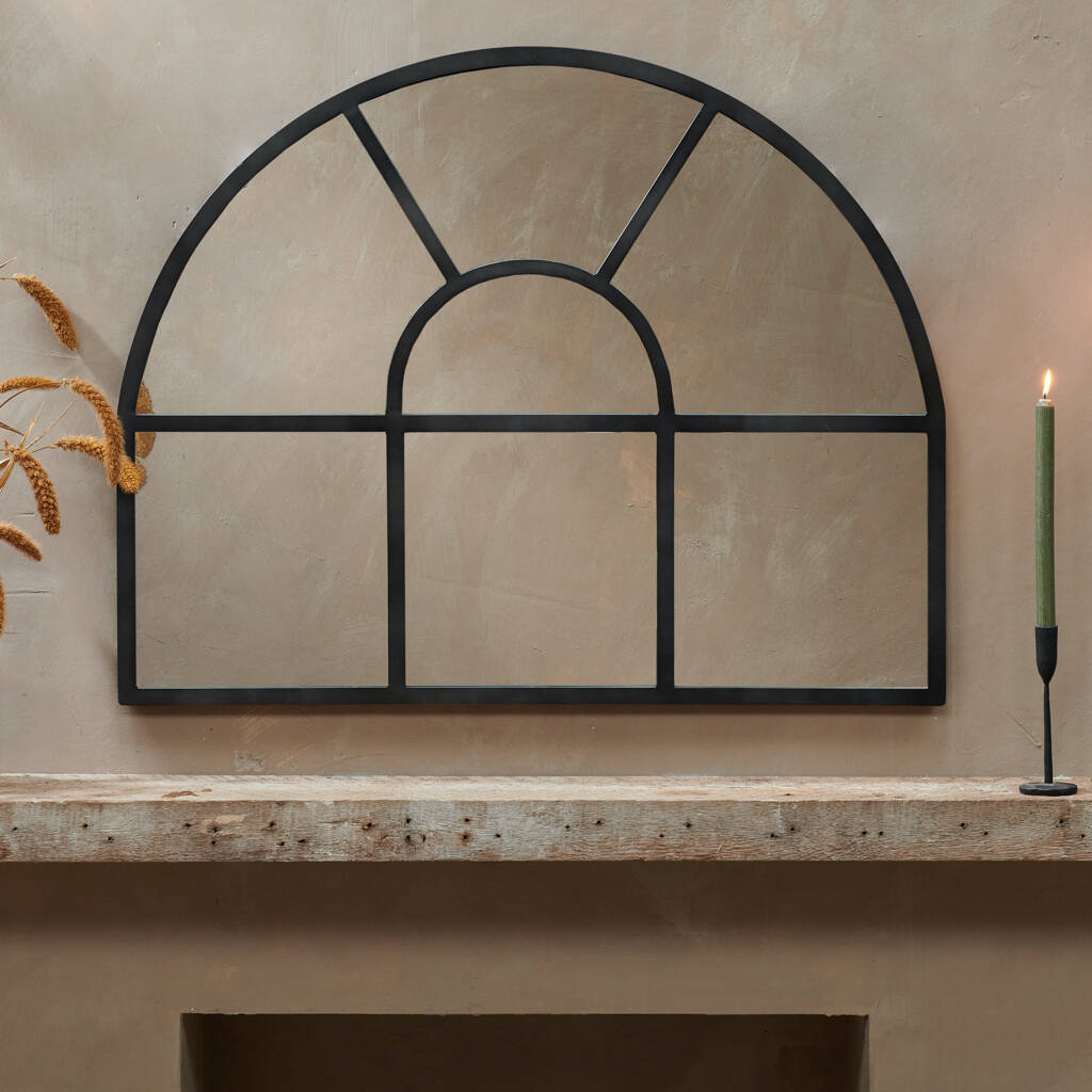 Over Mantle Arch Mirror By All Things Brighton Beautiful Notonthehighstreet Com