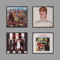 vinyl record frame by i love retro | notonthehighstreet.com