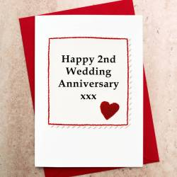 Masterly Handmade Wedding Anniversary Card Handmade Wedding Anniversary Card By Jenny Arnott Cards Gifts Flower 4th Anniversary Gift Ideas 4th Anniversary Gift Ideas Him