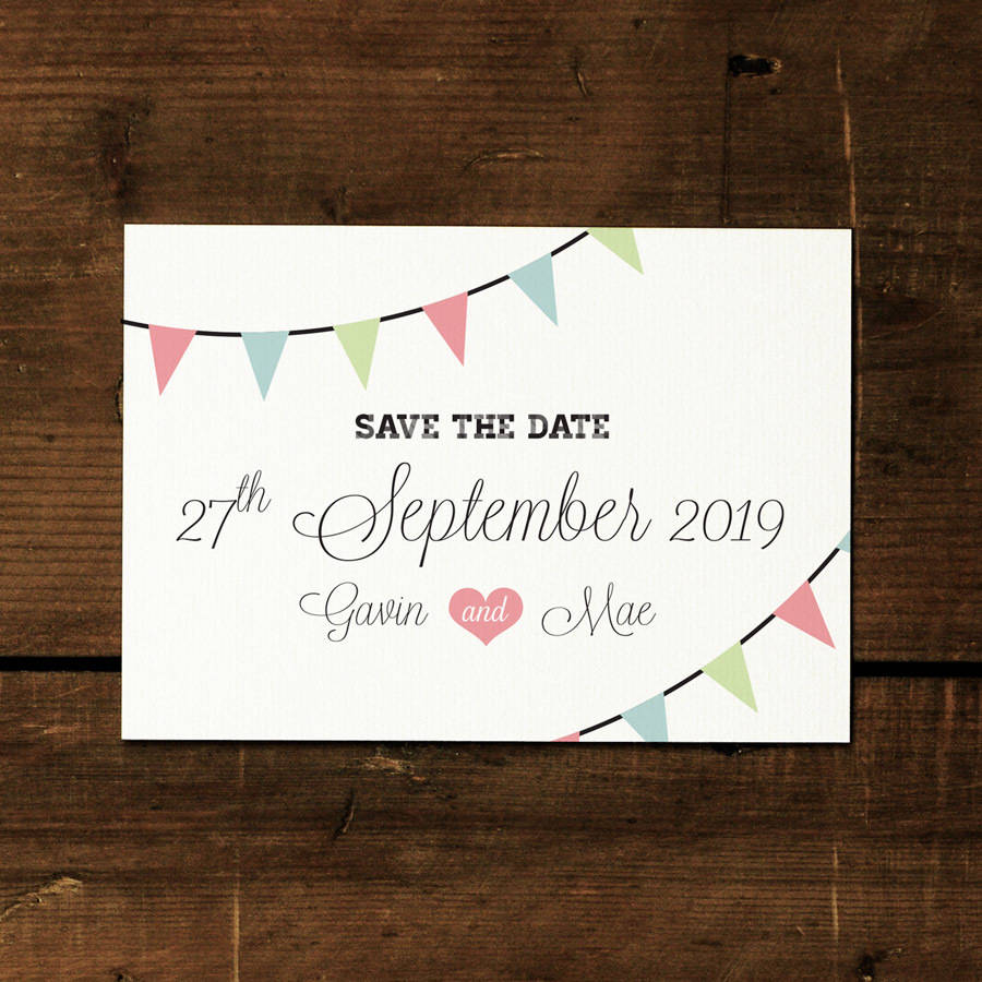 what is a save the date card