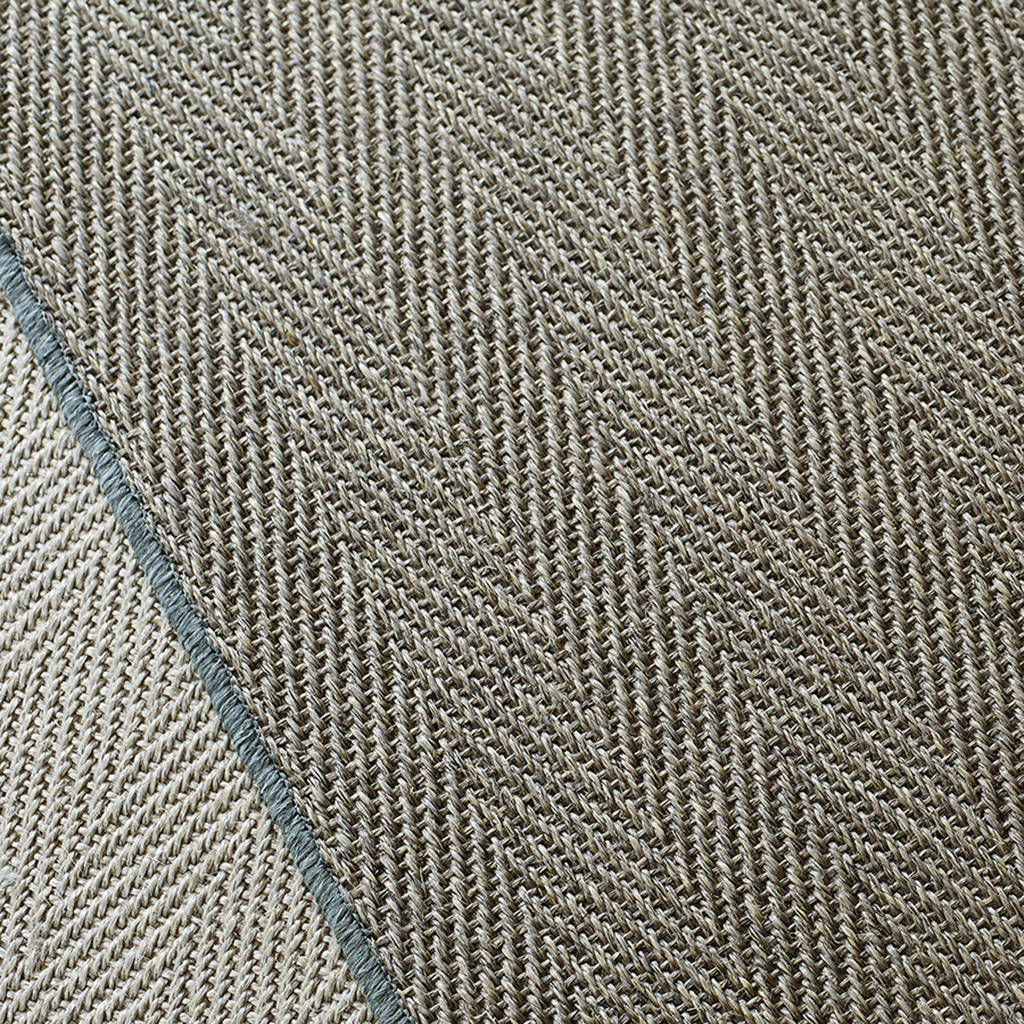 Cisale Sisal Herringbone Rug By Rowen And Wren Notonthehighstreet