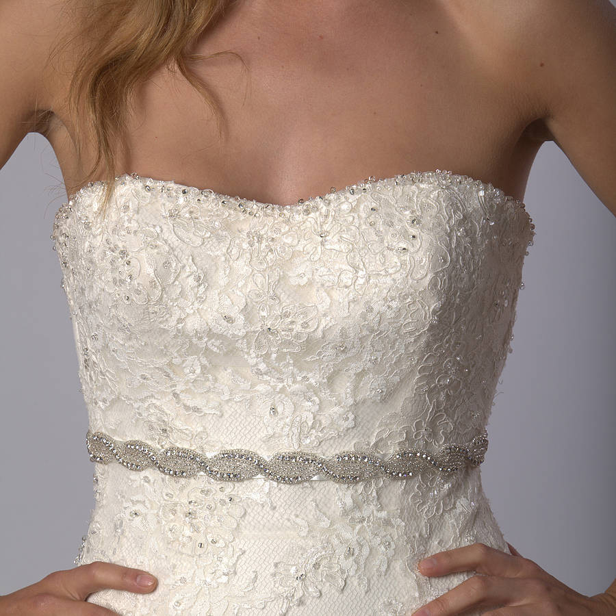 wedding dress belts wedding dress belts Megan Wedding Dress Belt
