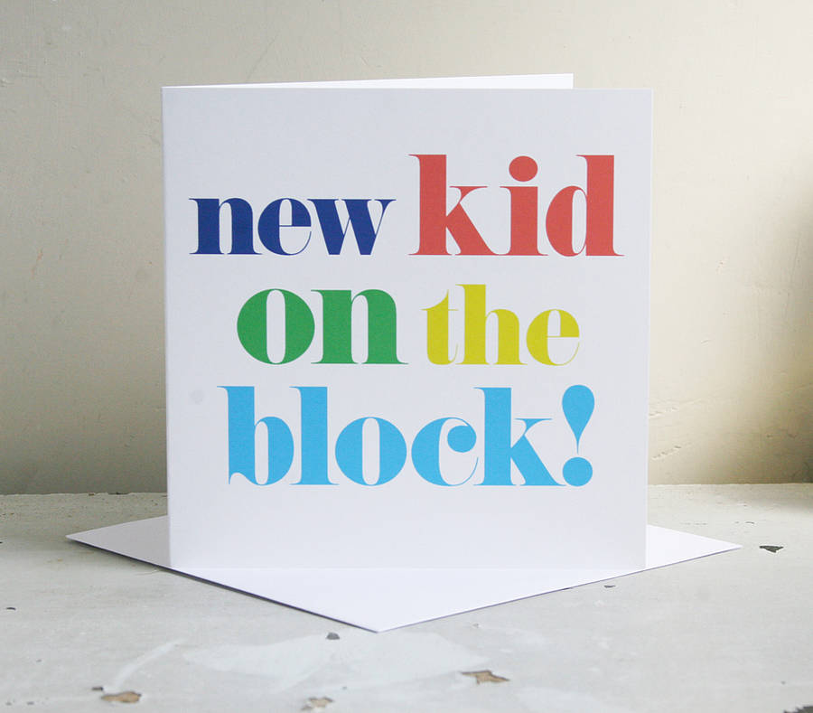 Baby Travel System Yes Or No 39;new Kid On The Block 39; Card By Modo Creative