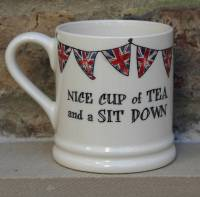 'nice cup of tea' mug by sweet william designs ...