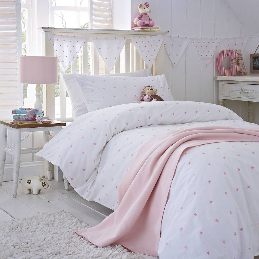 Pink Duvet Cover Pink Stars Duvet Cover Collection