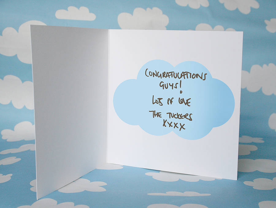 new baby boy card by modo creative notonthehighstreet