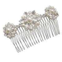 Vintage Hair Comb | edwardian celluloid rhinestone vintage ...