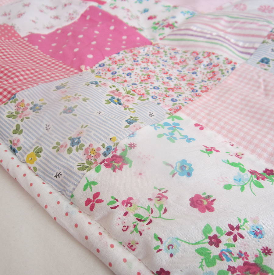 Baby Girl Nursery Wallpaper Uk Patchwork Quilt Personalised Girls And Boys By The