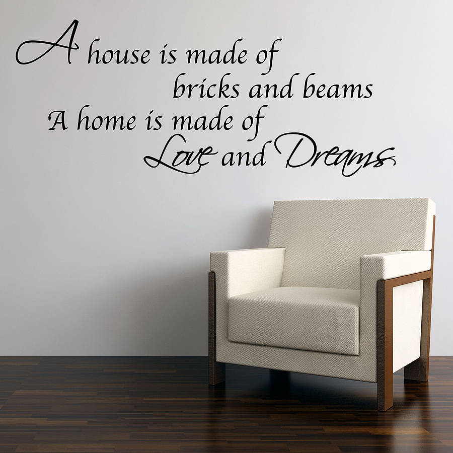 homepage parkins interiors love dreams home wall stickers home sweet home wall sticker decals