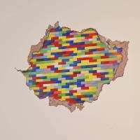 building blocks wall sticker by oakdene designs ...