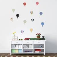 'children's hot air balloon' wall stickers by oakdene ...