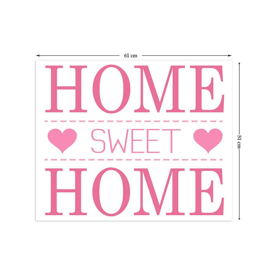 homepage binary box home sweet home wall stickers home sweet home wall sticker decals