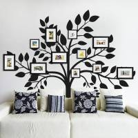 family photos tree wall sticker by sirface graphics ...