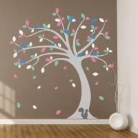 children's tree wall stickers set by oakdene designs ...