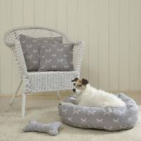 stylish dog donut dog beds with removable cushions by the ...