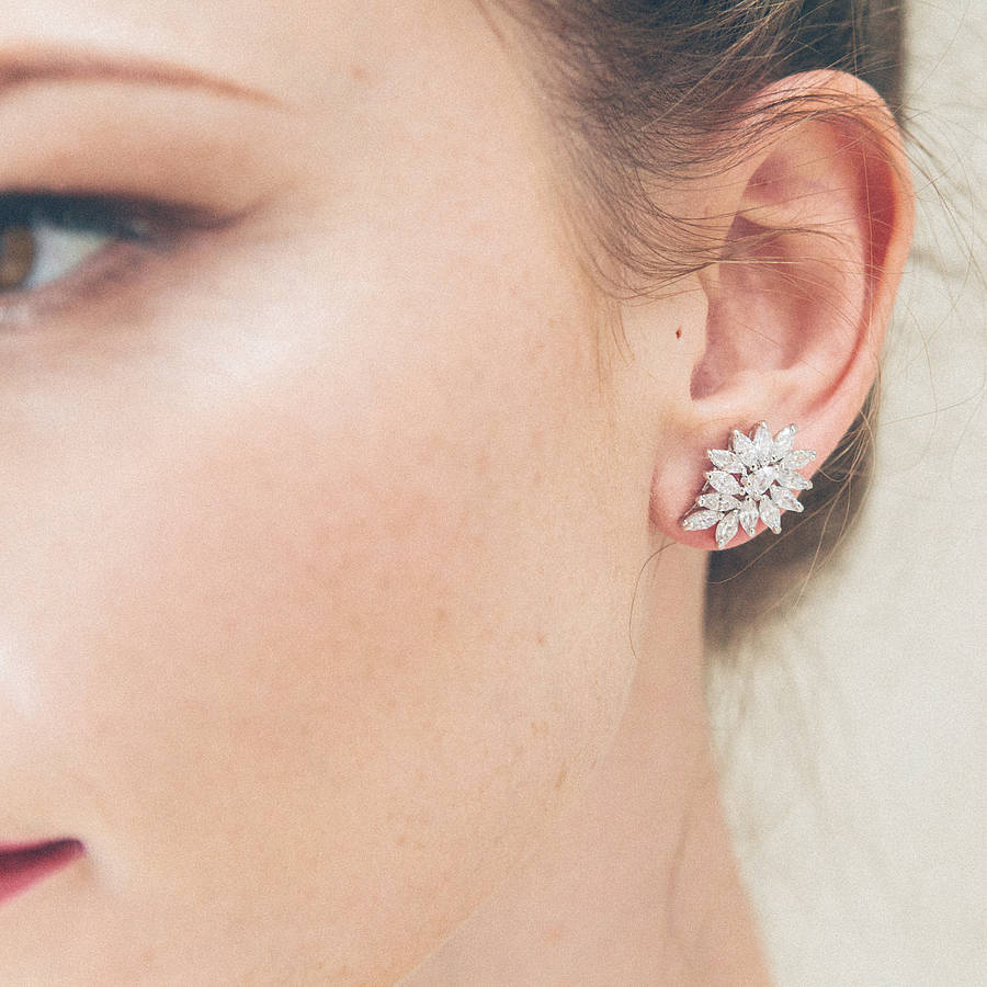 juliet crystal wedding earrings wedding earrings Juliet Crystal Wedding Earrings