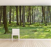 woodland forest self adhesive wallpaper by oakdene designs ...