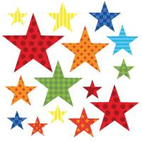 childrens bright star wall stickers by kidscapes ...