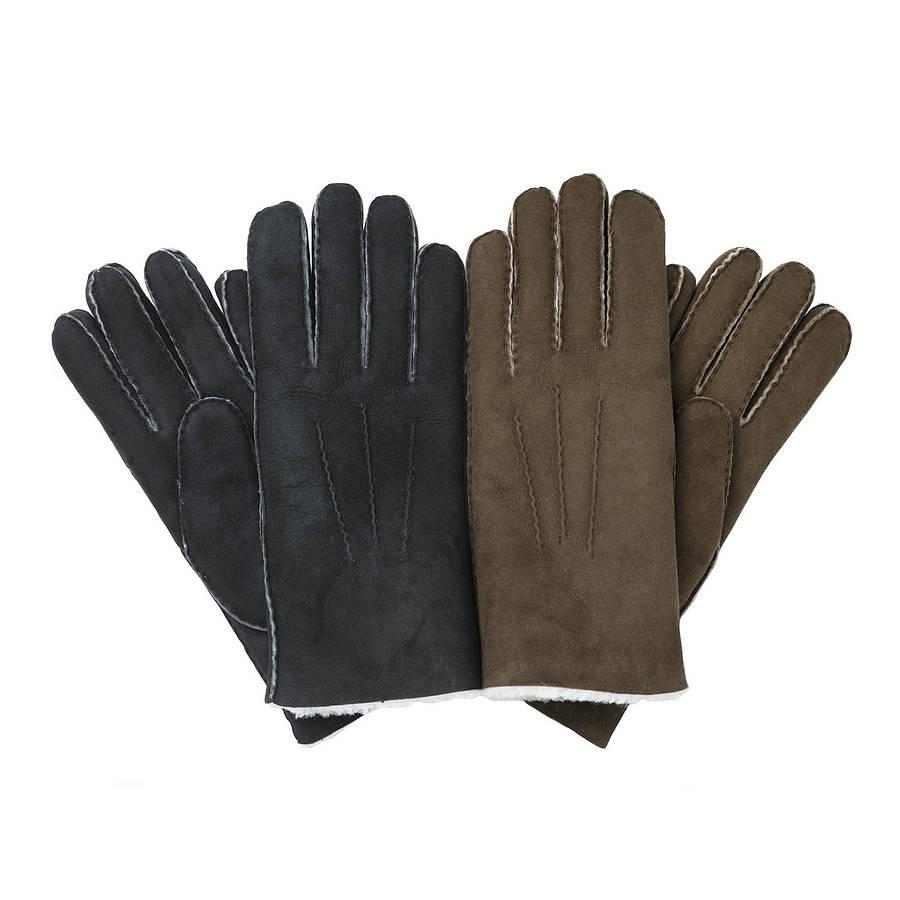 Men s classic sheepskin gloves
