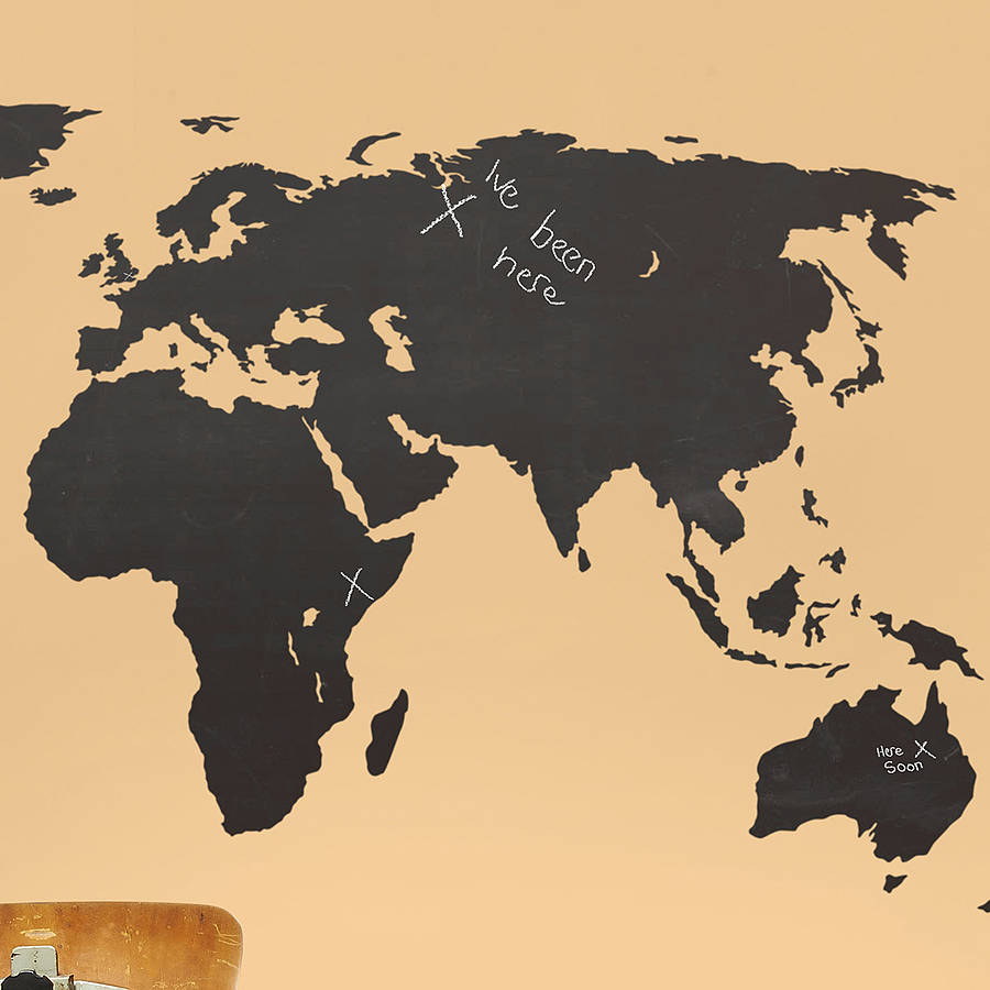 ... World Map Wall Sticker. Download Part 80