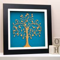 personalised family tree wall art by urban twist ...