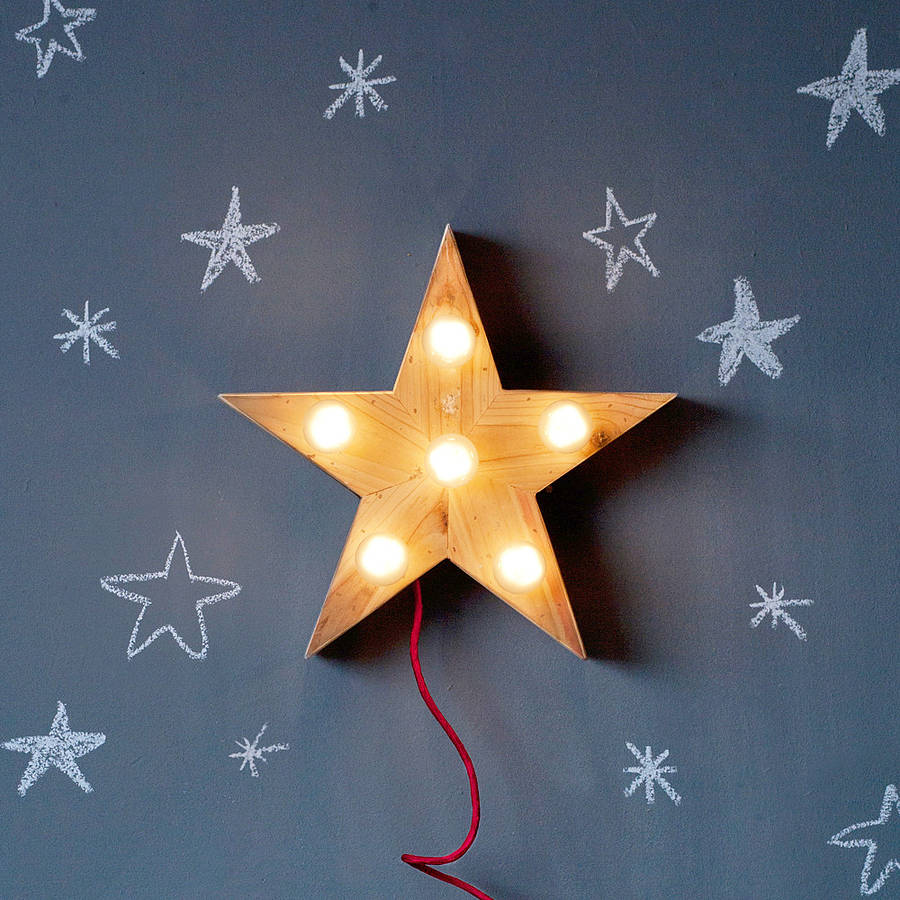 Stern Lampe Lena Star Lamp By Sisters Guild | Notonthehighstreet.com