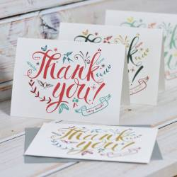 Dainty Thank You Cards By Oakdene Designs Notonstreet Com Thank Cards Cheap Thank You Cards Photo Cheap Thank You Cards Ireland