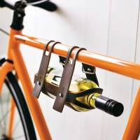 bike wine holder by men's society | notonthehighstreet.com