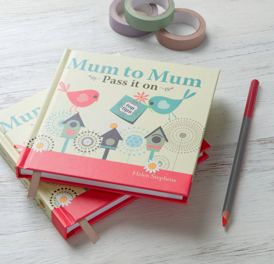 Baby Gastgeschenke 'mum To Mum Pass It On' Book By Glad Gifts
