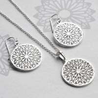 sterling silver snowflake earrings by martha jackson ...
