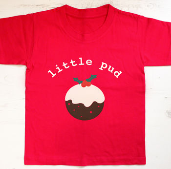 Little Pud Christmas T-Shirt