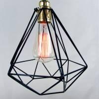 diamond cage pendant light by unique's co ...