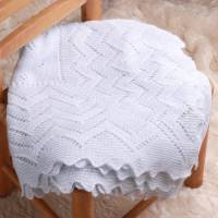 soft knit baby shawl by adore baby | notonthehighstreet.com
