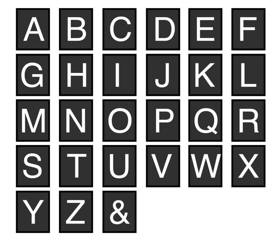 Block Lettering Font Picture Free Hand Block Lettering Font