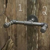 industrial steel pipe hanging hook by brush64 ...