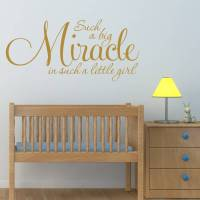 girl's nursery quote wall sticker by mirrorin ...