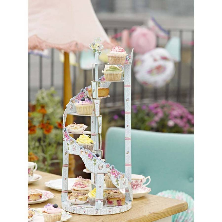 Canape Show Spiral Cupcake Stand By Bunting & Barrow