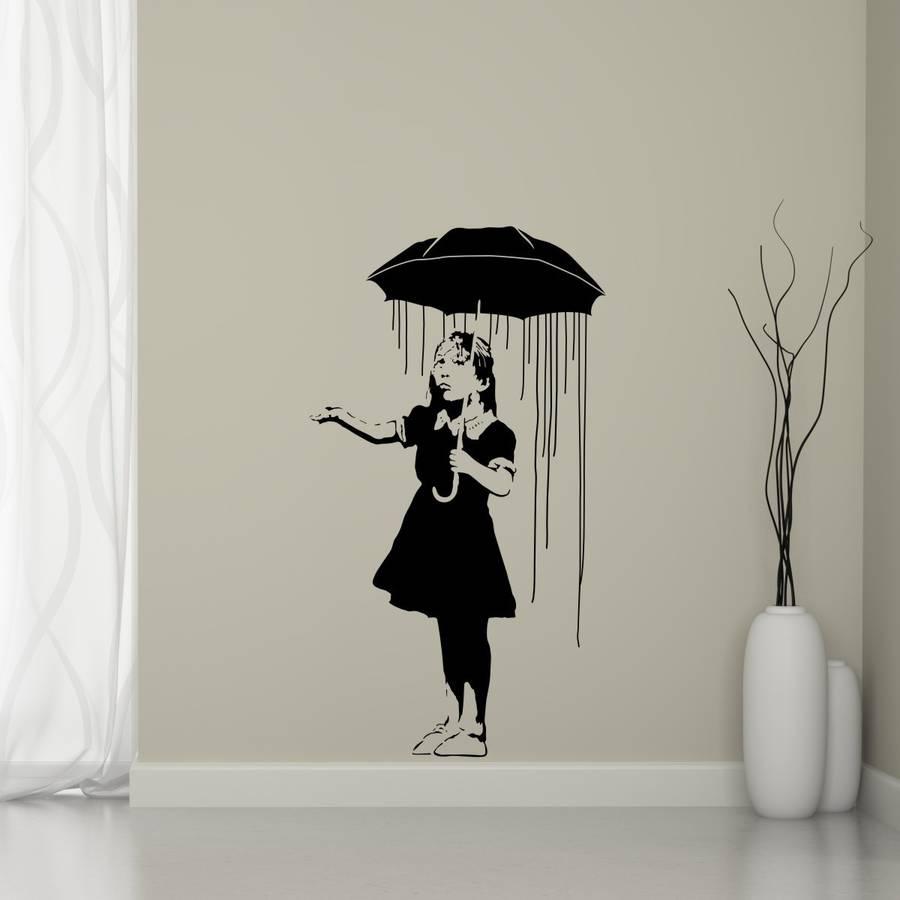 long home banksy wall sticker mirrorin notonthehighstreet wall stickers wall decals wall vinyl vinyl wall art vinyl art