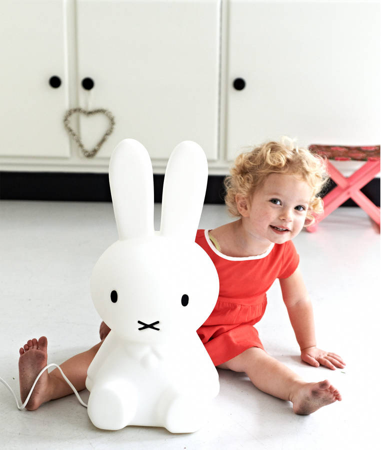 Mifi Hase Rabbit Nursery Lamp By Lullabuy | Notonthehighstreet.com