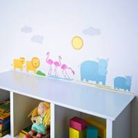 childrens safari wall stickers by kidscapes ...