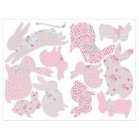children's rabbit wall stickers by koko kids ...