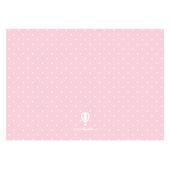 personalised new baby girl announcement cards by made by ellis