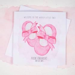 Wonderful Spanish Italian Congratulations On Your Baby Girl Baby Girls Congratulations On Your Baby Girl Cards Baby Girls Cards